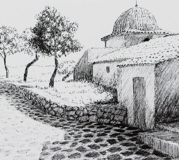 Apunte de Castalla |Tinta| José Cerezo