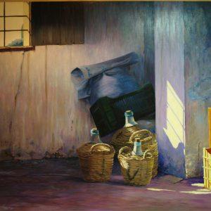 Domingo en casa de Nerea|Óleo| José Cerezo