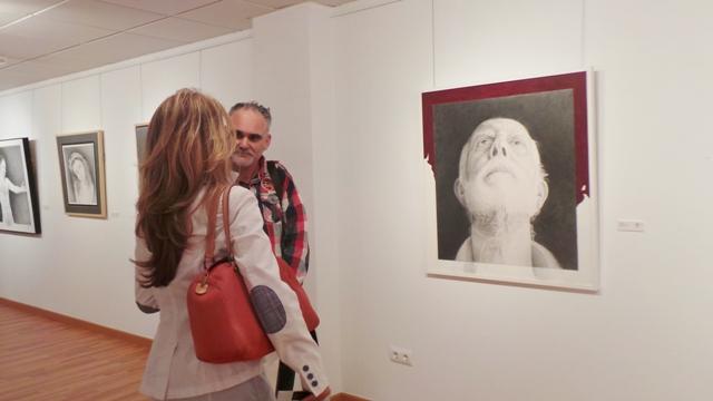 Exposición José Cerezo en Muchamiel abril 2014