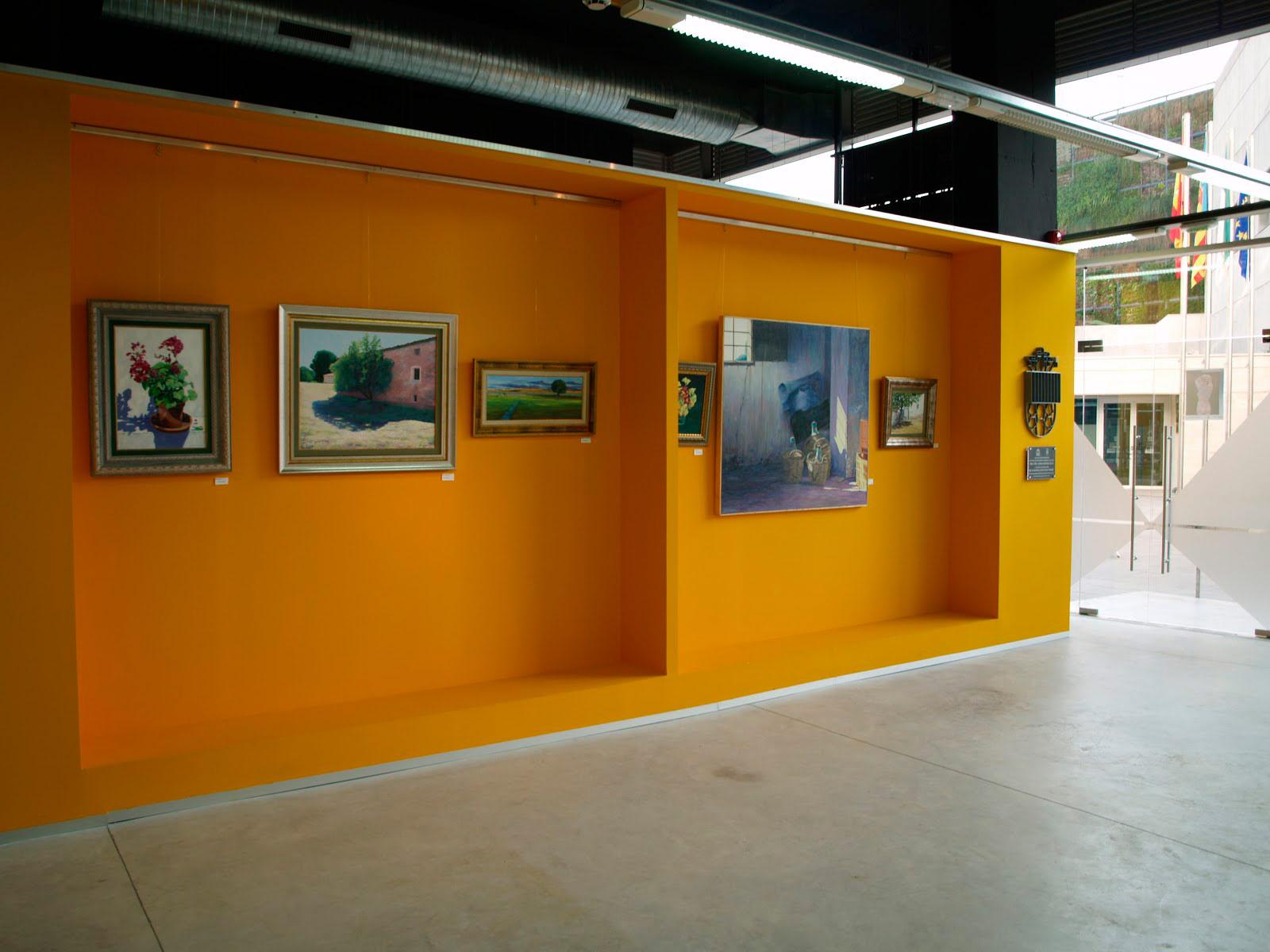 Exposición-Sala-Los-Bajos,-Ayuntamiento-de-San-Vicente-del-Raspeig,2012,cuadros-a-pintura