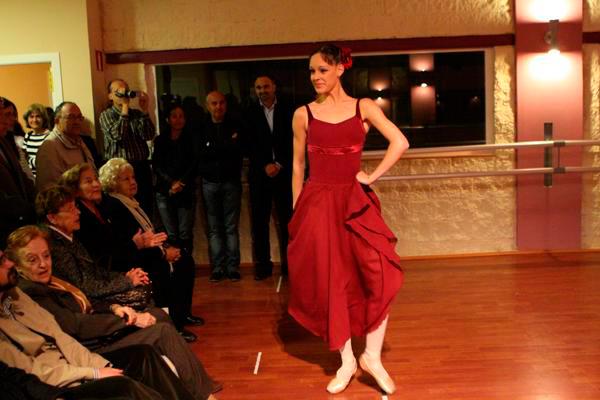 Exposición en Escuela de Danza Sofía Sancho, 2007