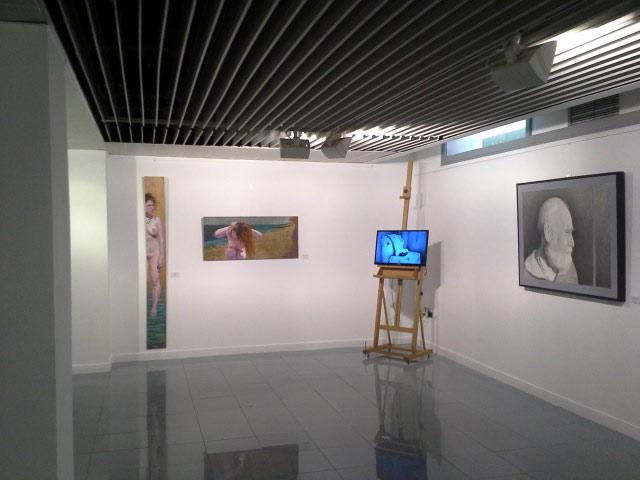 Exposición en el Periódico iInformación,Mundos Paralelos,2015