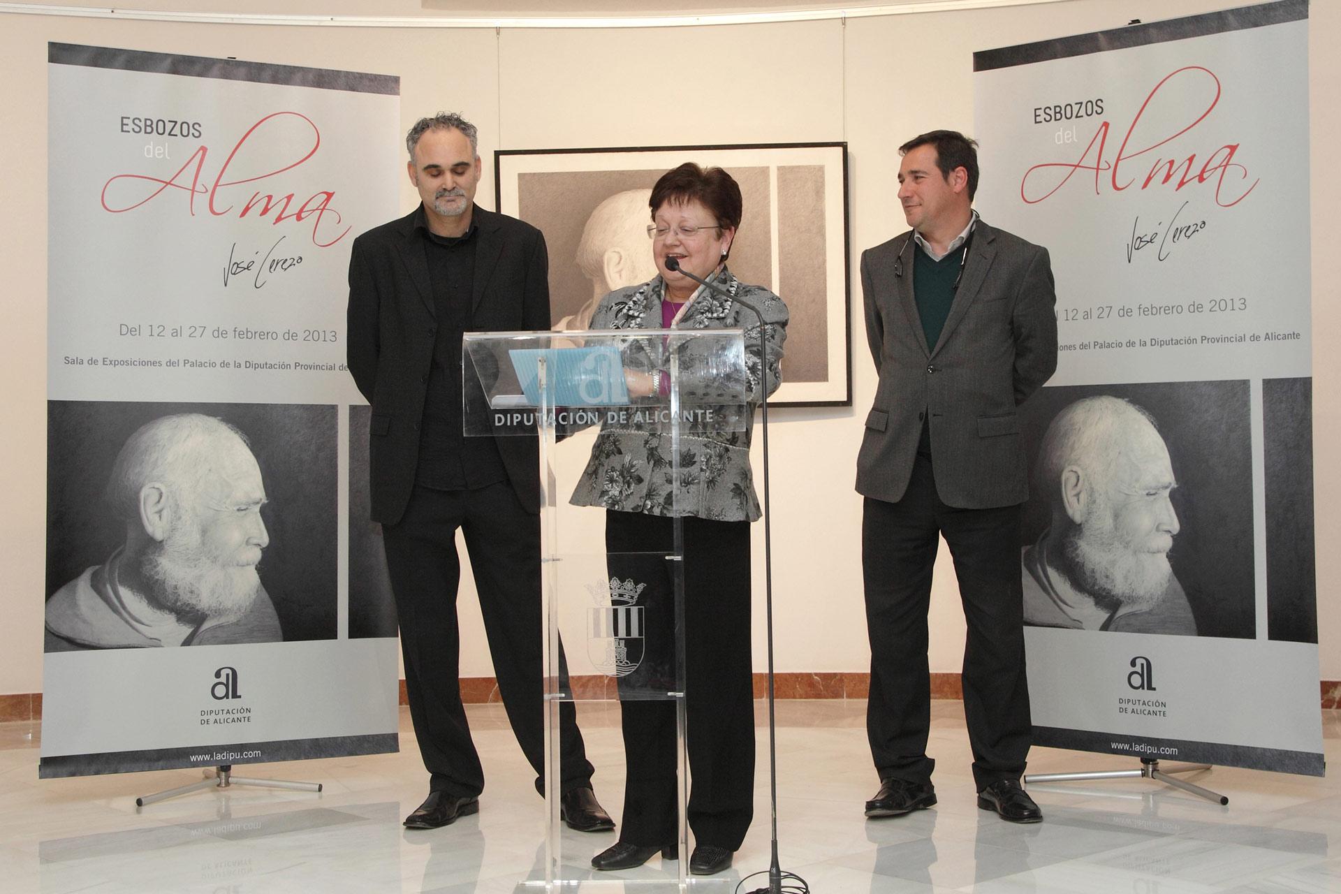 Exposicion Diputación de Alicante, Esbozos del Alma, José Cerezo