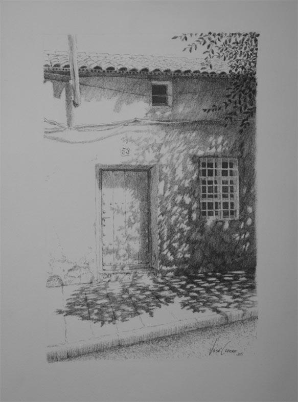 Descansando | Tinta | José Cerezo
