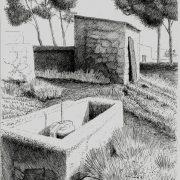 Bassa | Tinta con pluna | José Cerezo