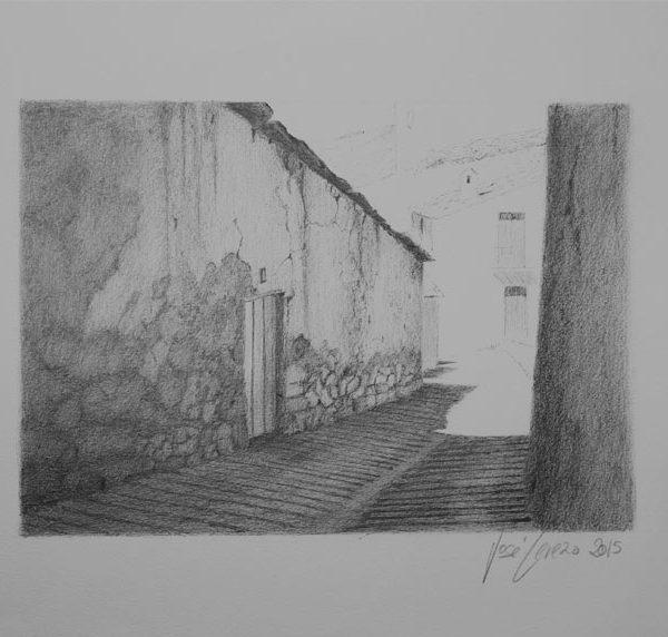 Callejón |Tinta | José Cerezo