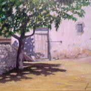 Día de Verano | Óleo sobre tabla | José Cerezo