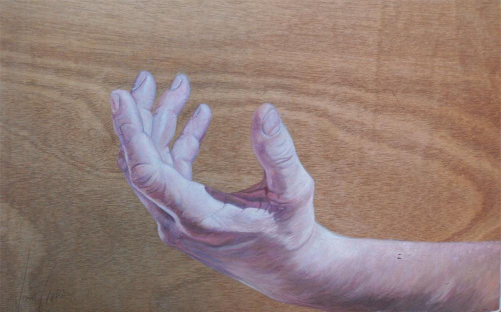 Polvo | Óleo sobre tabla | José Cerezo